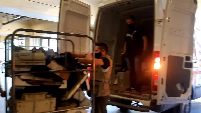 Ambiente retiró 970 kilos de RAEE del Ministerio de Obras y Servicios Públicos