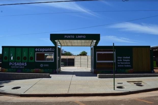 Posadas | Inaugurarán un Ecopunto y un Punto Limpio en la intersección de las Avenidas San Martín y Urquiza